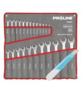 PROLINE 35324 zestaw kluczy płasko--oczkowych 6-32