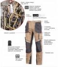 Spodnie robocze do pasa slim fit  Lahti Pro L40522