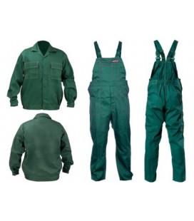 Ubranie Robocze bluza+ ogrodniczki zielone Lahti Pro