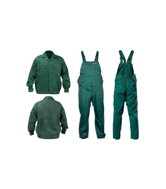 f39903d2e9c5a4 Ubranie Robocze bluza+ ogrodniczki zielone Lahti Pro